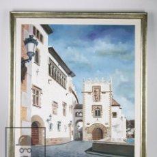 Arte: PINTURA ÓLEO SOBRE LIENZO - SITGES. MUSEU MARICEL DE MAR - MIQUEL / J. MIQUEL ACEVEDO CASTELLANOS. Lote 101866631