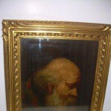 Arte: OLEO SOBRE LIENZO ENTELADO SOBRE MADERA..FIRMADO F.BENET..CON MARCO ORIGINAL TALLADO EN MADERA.. Lote 102089355