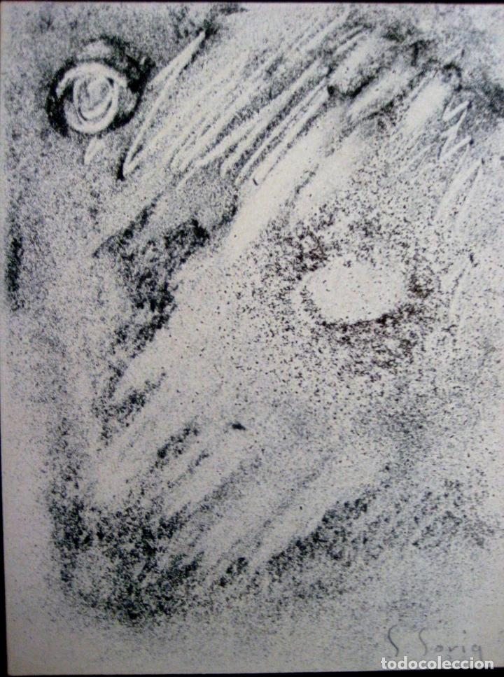 Arte: SALVADOR SORIA (1915-2010). TÉCNICA MIXTA (1959) - Foto 3 - 102336931