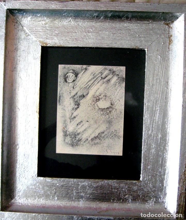 Arte: SALVADOR SORIA (1915-2010). TÉCNICA MIXTA (1959) - Foto 5 - 102336931