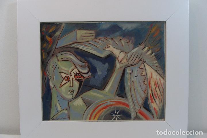 ÓLEO SOBRE LIENZO - FIRMADO - SIGLO XX (Arte - Pintura - Pintura al Óleo Contemporánea )