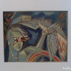 Arte: ÓLEO SOBRE LIENZO - FIRMADO - SIGLO XX. Lote 102346995
