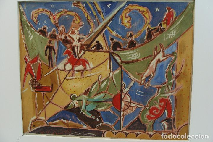 Arte: Óleo sobre lienzo - Firmado - Siglo XX - Foto 2 - 102347115
