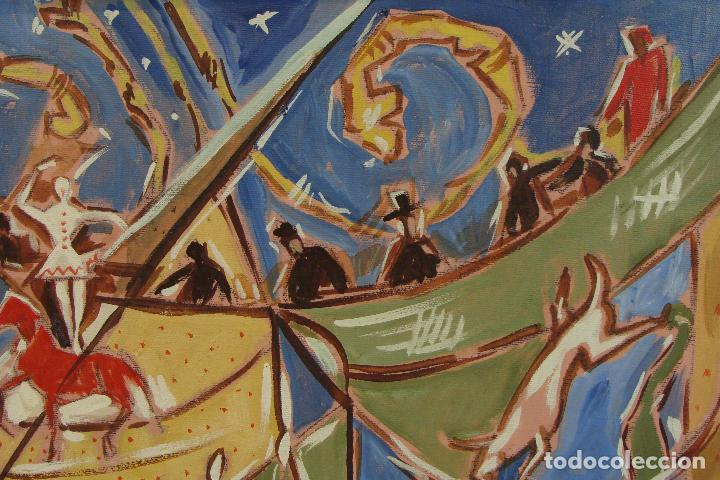 Arte: Óleo sobre lienzo - Firmado - Siglo XX - Foto 6 - 102347115