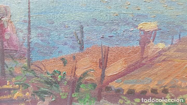 Arte: Oleo sobre tela atribuido a daniel codorniu.mallorca.buen trazo. - Foto 4 - 171030022