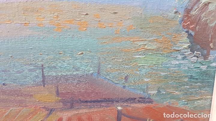 Arte: Oleo sobre tela atribuido a daniel codorniu.mallorca.buen trazo. - Foto 5 - 171030022