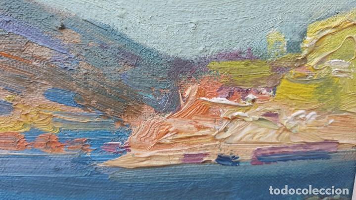 Arte: Oleo sobre tela atribuido a daniel codorniu.mallorca.buen trazo. - Foto 7 - 171030022
