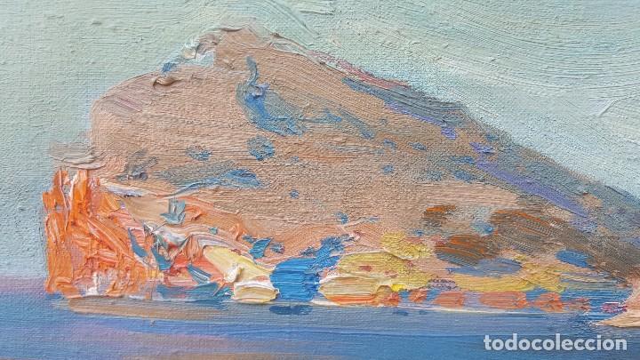 Arte: Oleo sobre tela atribuido a daniel codorniu.mallorca.buen trazo. - Foto 8 - 171030022