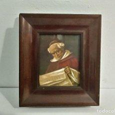 Arte: ANTIGUO RETRATO DE OBISPO O RELIGIOSO. Lote 102384739