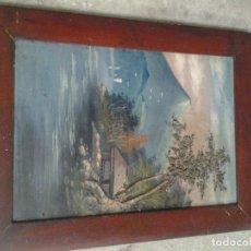 Arte: OLEO SOBRE LIENZO POSIBLEMENTE ARTE ASIATICO - SIGLO XX. Lote 102387815