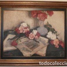 Arte: BODEGON CON FLORES A.MARTIARENA 1884-1966. Lote 102482403
