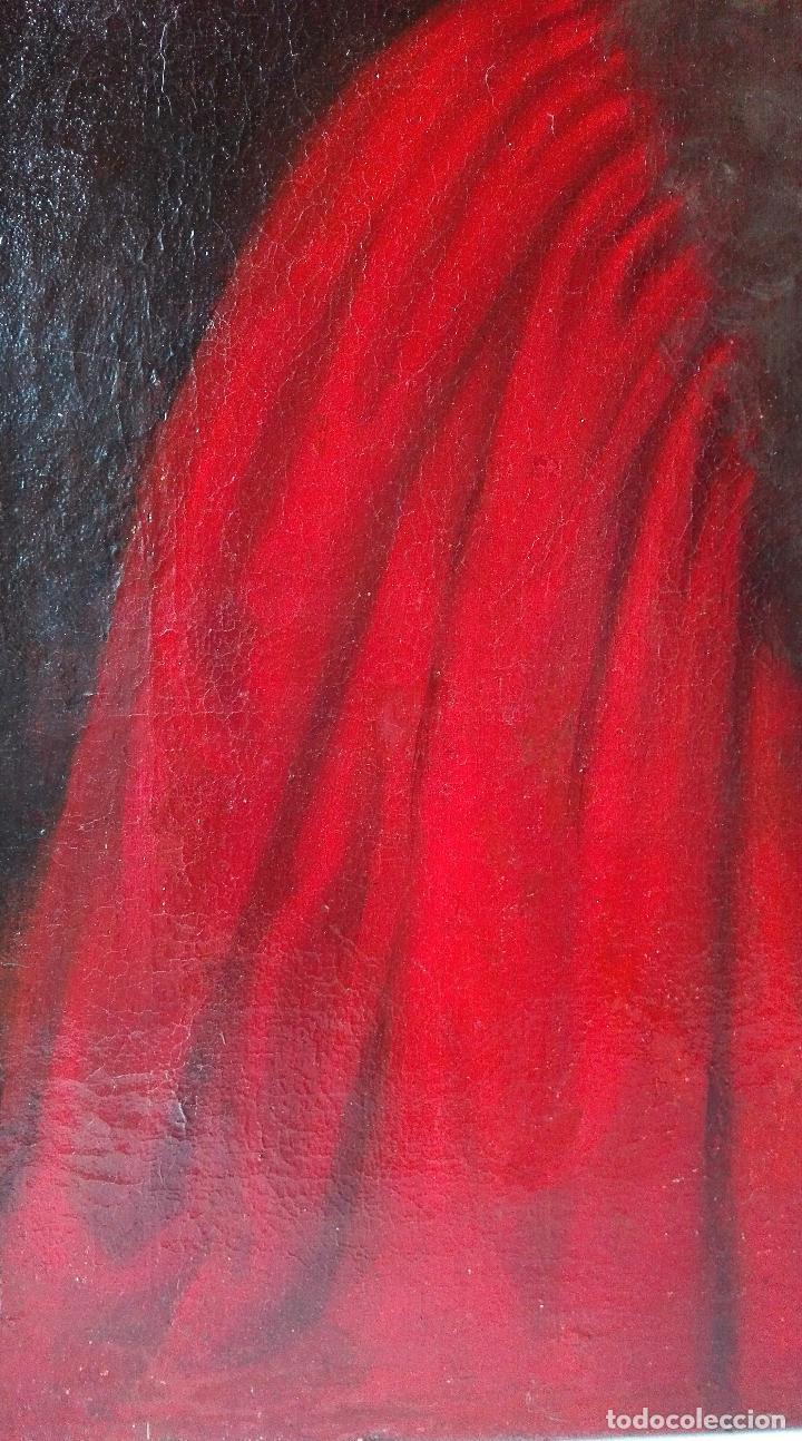 Arte: Cuadro Escuela Francesa. Magistrado. Siglo XVIII. Oleo sobre Lienzo. - Foto 7 - 158204697