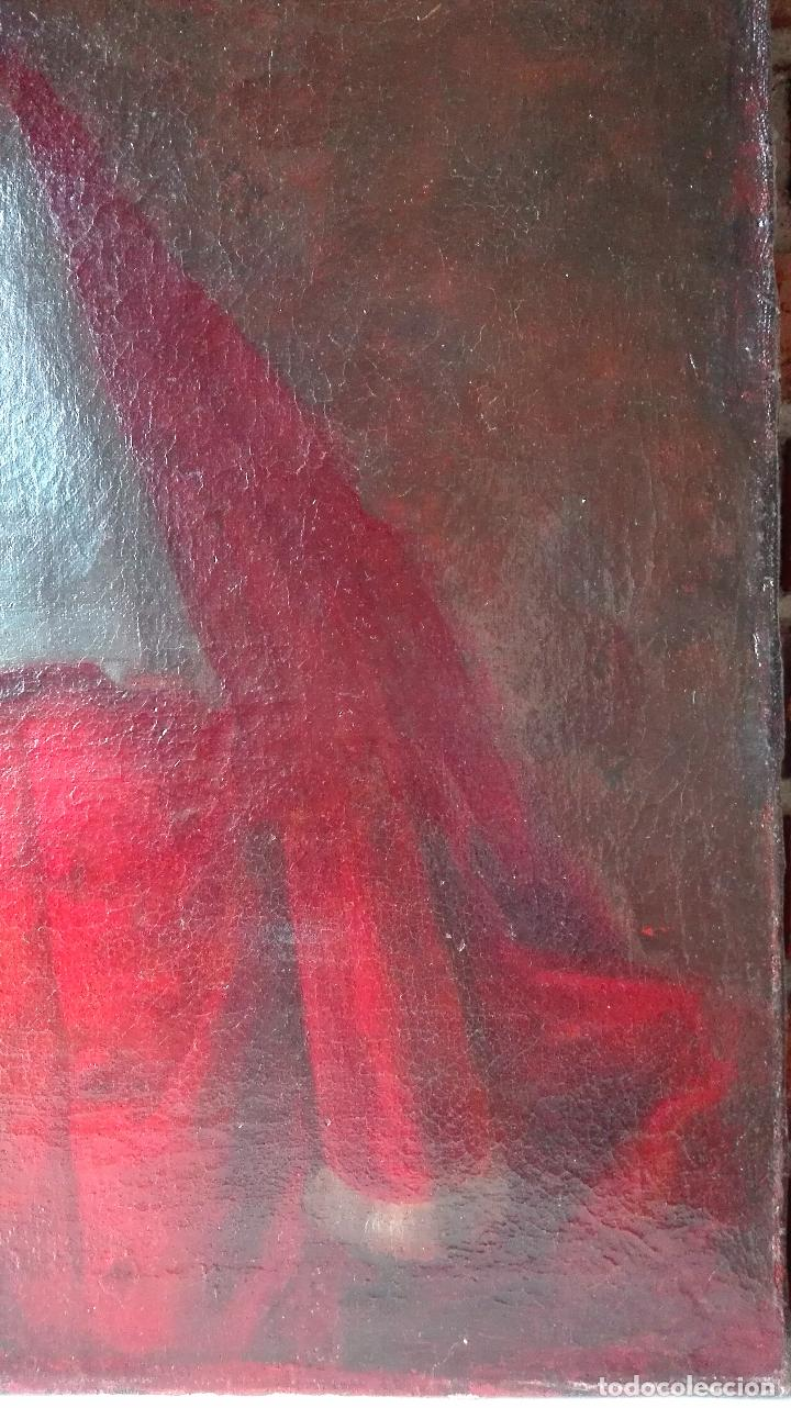 Arte: Cuadro Escuela Francesa. Magistrado. Siglo XVIII. Oleo sobre Lienzo. - Foto 8 - 158204697