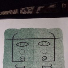 Arte: SUBIRACHS , 2 CUADROS, UN ORIGINAL Y LITOGRAFIAS, ( ORIGINAL Y LITOGRAFIA ). Lote 102561471