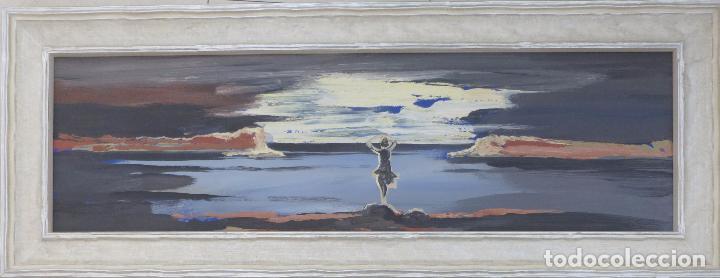 FELIPE CRIADO (CORUÑA 1928-2013). MERA. (Arte - Pintura - Pintura al Óleo Contemporánea )