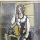 Arte: ÓLEO EXPRESIONISTA BELGA AÑOS 40, SOBRE CARTÓN, VANGUARDIA, EXPRESIONISMO, ART DECO, MUJER INTERIOR. Lote 102633827