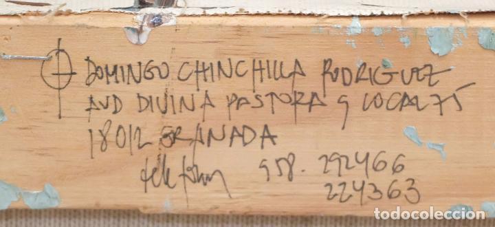 Arte: DOMINGO CHINCHILLA RODRIGUEZ (Madrid, 1961) TECNICA MIXTA SOBRE TELA FECHADO DEL 1993 . ABSTRACCION - Foto 9 - 102642495