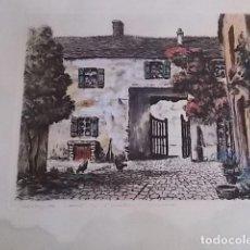 Arte: MAGNIFICA ACUARELA CALIDAD FIRMADA . Lote 102646027