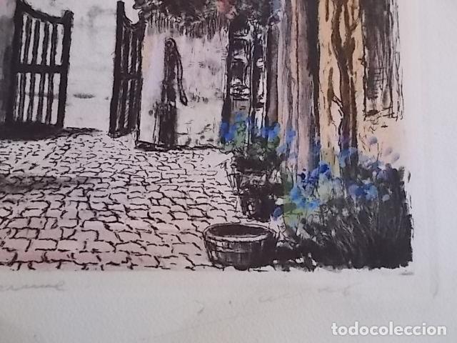 Arte: MAGNIFICA ACUARELA CALIDAD FIRMADA - Foto 3 - 102646027