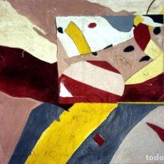 Arte: COMPOSICIÓN. PINTURA AL ÓLEO SOBRE LIENZO. FIRMADO. ESPAÑA(?). CIRCA 1930. Lote 102698619