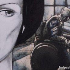 Arte: JOSE IBARROLA, ILUSTRACION 1995. Lote 102806995