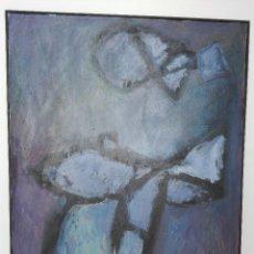 Arte: PINTURA DE JORGE LINDELL, TECNICA MIXTA SOBRE LIENZO. Lote 102930187