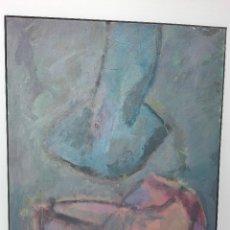 Arte: PINTURA DE JORGE LINDELL, TECNICA MIXTA SOBRE LIENZO. Lote 102930235