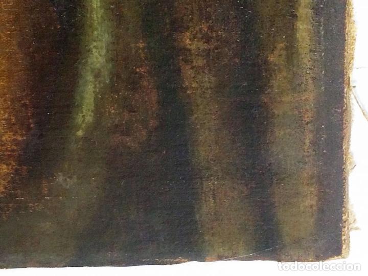 Arte: RETRATO DE JOVEN DAMA. ÓLEO SOBRE TELA. ESCUELA CATALANA. ESPAÑA. CIRCA 1850 - Foto 9 - 102930571