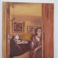 Arte: LA JOVEN DEL CANDELABRO. Lote 102955223