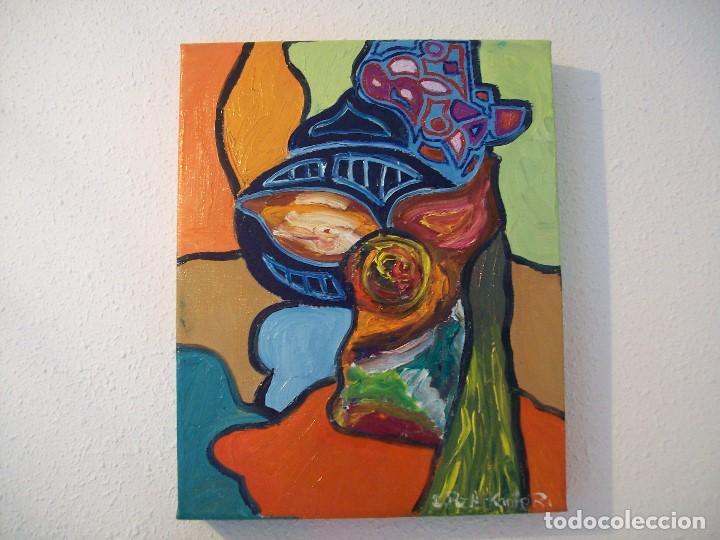 lote de 3 cuadros originales arte pintura directa del autor - Cuadros Originales