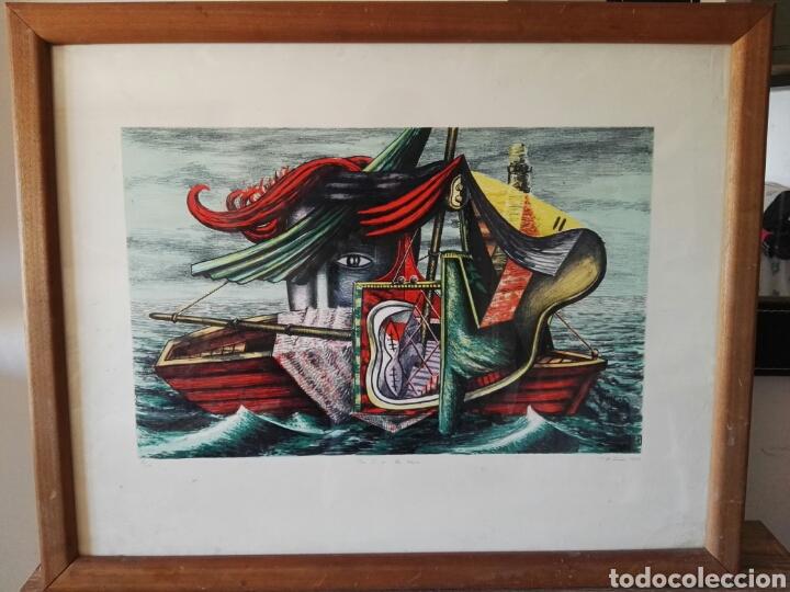 PINTURA CUADRO ESPECTACULAR SURREALISTA NUMERADA Y FIRMADA (Arte - Pintura Directa del Autor)