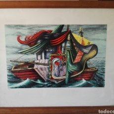 Arte: PINTURA CUADRO ESPECTACULAR SURREALISTA NUMERADA Y FIRMADA. Lote 103116352