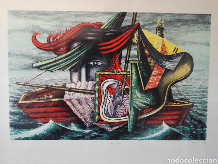 Arte: Pintura cuadro espectacular surrealista numerada y firmada - Foto 2 - 103116352
