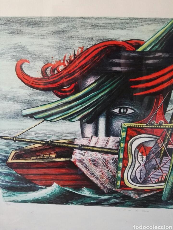 Arte: Pintura cuadro espectacular surrealista numerada y firmada - Foto 3 - 103116352