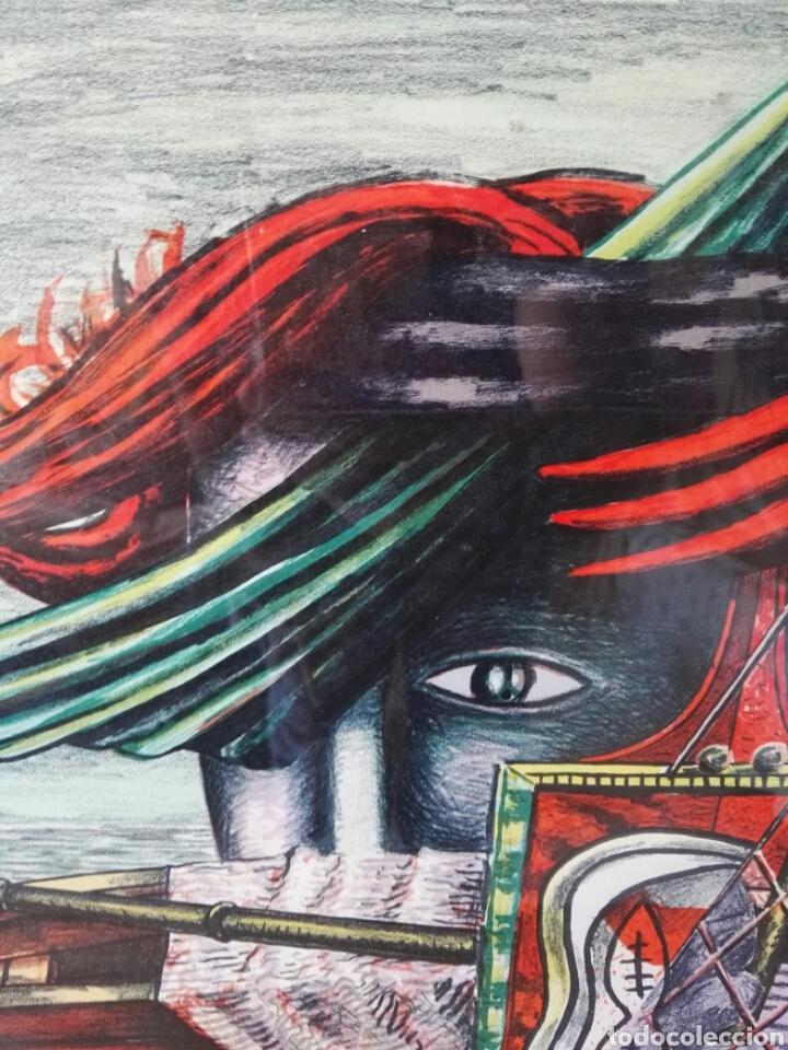 Arte: Pintura cuadro espectacular surrealista numerada y firmada - Foto 4 - 103116352