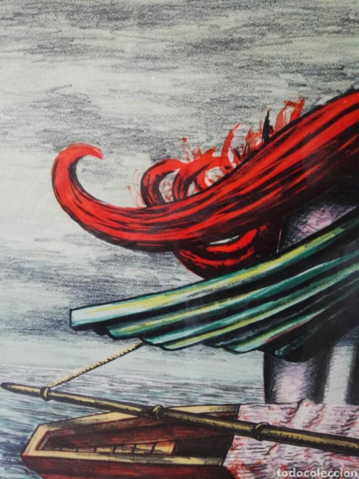 Arte: Pintura cuadro espectacular surrealista numerada y firmada - Foto 5 - 103116352