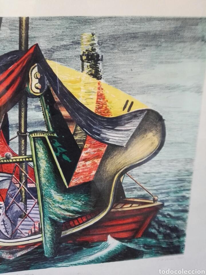 Arte: Pintura cuadro espectacular surrealista numerada y firmada - Foto 7 - 103116352