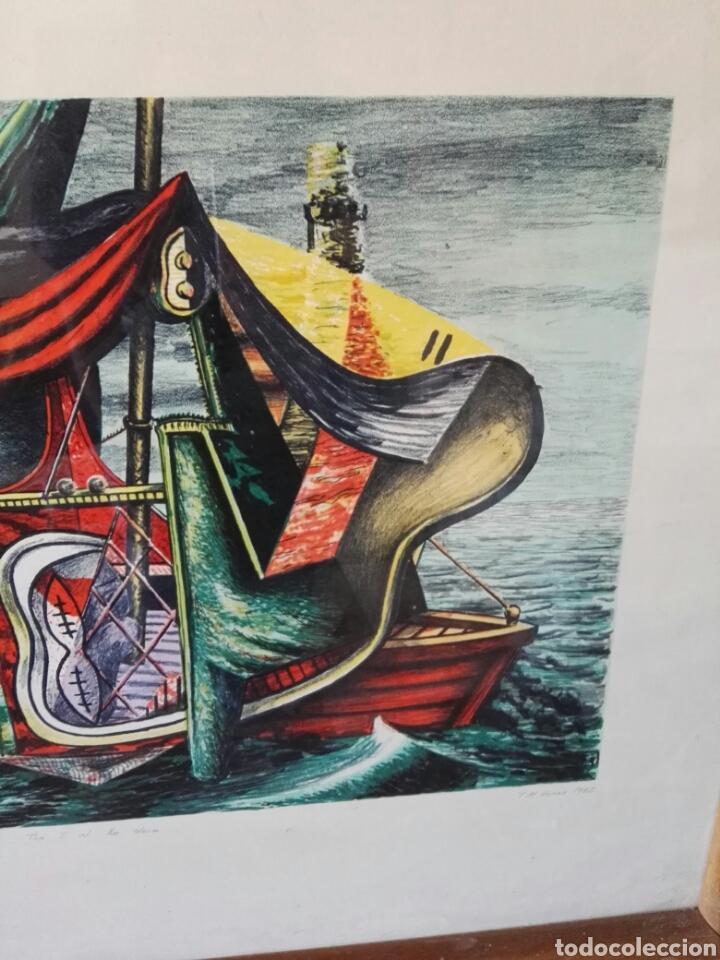 Arte: Pintura cuadro espectacular surrealista numerada y firmada - Foto 8 - 103116352