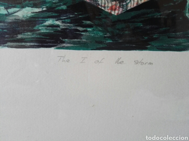 Arte: Pintura cuadro espectacular surrealista numerada y firmada - Foto 10 - 103116352