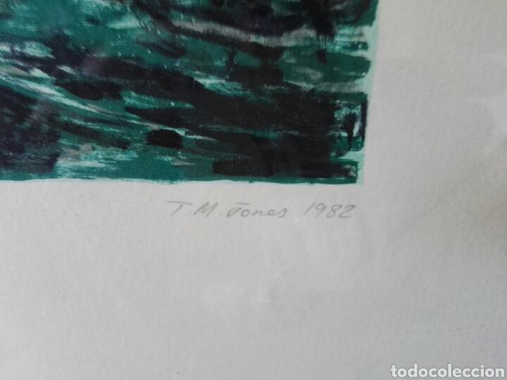 Arte: Pintura cuadro espectacular surrealista numerada y firmada - Foto 11 - 103116352