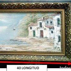 Arte: PINTURA AL OLEO SOBRE LIENZO RECUERDOS. Lote 103216631