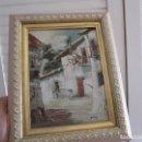 Arte: ANTIGUO CUADRO OLEO CON FIRMA-MUY BONITO. Lote 103304839