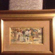 Arte: ROIG SOLER, JOAN, PINTURA AL ÓLEO SOBRE TABLA, PROCEDE DE LA PINACOTECA. Lote 103385471