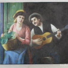 Arte: LIENZO OLEO ORIGINAL FIRMADO. Lote 106111939
