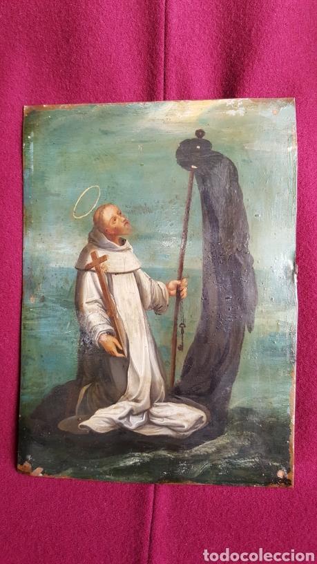 ANTIGUA PINTURA SOBRE COBRE (Arte - Pintura - Pintura al Óleo Antigua sin fecha definida)