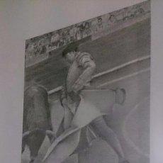 Arte: PINTURA CARBONCILLO DE CURRO ROMERO. PIEZA ORIGINAL PINTADA POR LUIS VÁZQUEZ.. Lote 103728095