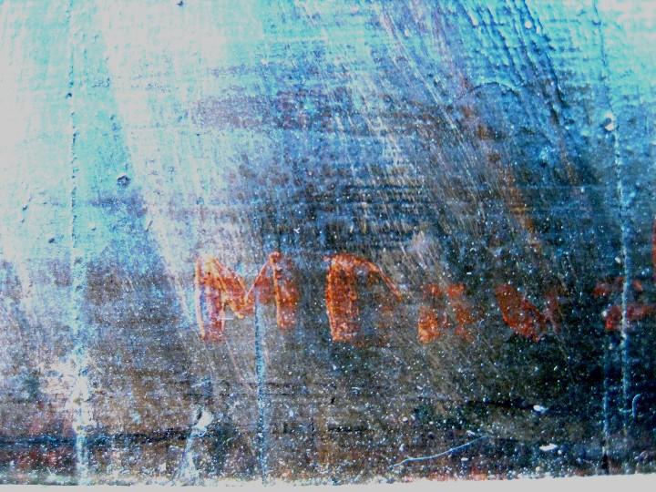 Arte: ESCUELA FRANCESA FINES DEL SIGLO XIX. LA VENDEDORA DE GLOBOS. ÓLEO/TABLA FIRMADA M. DUBOIS - Foto 3 - 103751567