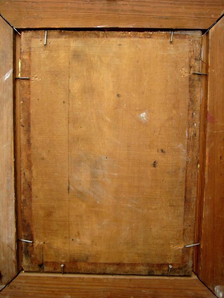 Arte: ESCUELA FRANCESA FINES DEL SIGLO XIX. LA VENDEDORA DE GLOBOS. ÓLEO/TABLA FIRMADA M. DUBOIS - Foto 4 - 103751567