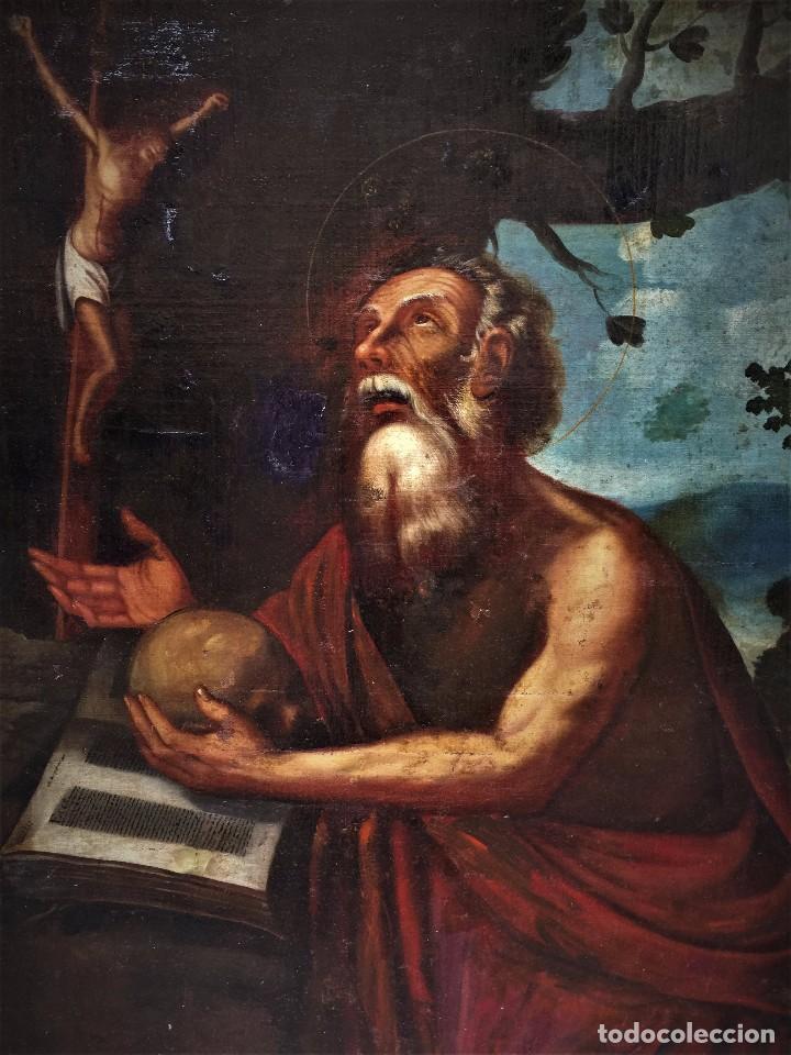 Arte: MAGNIFICO S JERONIMO ESCUELA ESPAÑOLA S. XVI-XVII - Foto 4 - 103782807