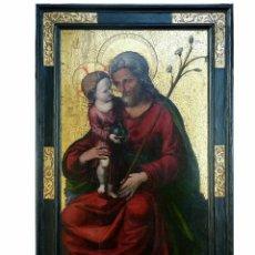 Arte: TABLA SIGLO XVI FELIPE PABLO SAN LEOCADIO. Lote 103802552